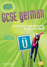 AQA GCSE German Resources and Planning OxBox CD-ROM