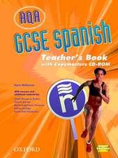 AQA GCSE Spanish Teacher's Book and Copymasters CD-ROM