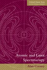 Atomic and Laser Spectroscopy