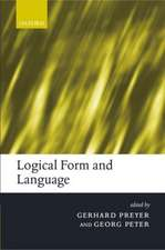 Logical Form and Language