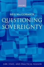 Questioning Sovereignty: Law, State, and Nation in the European Commonwealth
