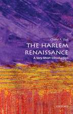 The Harlem Renaissance: A Very Short Introduction