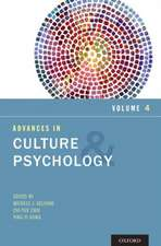 Advances in Culture and Psychology, Volume 4