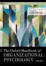 The Oxford Handbook of Organizational Psychology, Volume 2