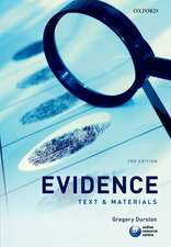 Evidence: Text & Materials
