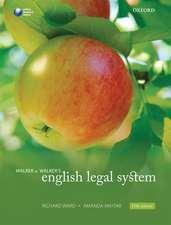 Walker & Walker's English Legal System