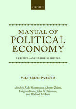 Manual of Political Economy: A Critical and Variorum Edition
