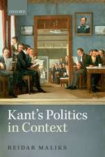 Kant's Politics in Context