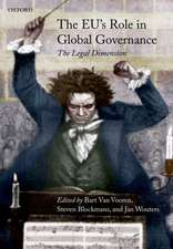 The EU's Role in Global Governance: The Legal Dimension
