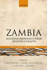 Zambia: Building Prosperity from Resource Wealth