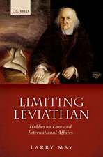 Limiting Leviathan: Hobbes on Law and International Affairs