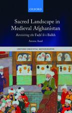 """Sacred Landscape in Medieval Afghanistan: Revisiting the Fa.dā""""il-i Balkh"""