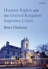 Human Rights and the United Kingdom Supreme Court