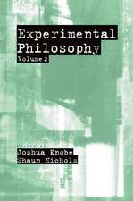 Experimental Philosophy: Volume 2