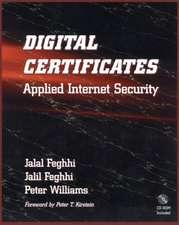 Digital Certificates: Applied Internet Security