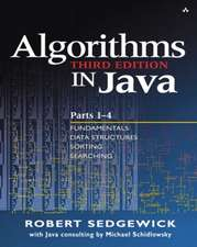 Algorithms in Java, Parts 1-4