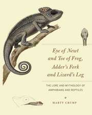 Eye of Newt and Toe of Frog, Adder's Fork and Lizard's Leg: The Lore and Mythology of Amphibians and Reptiles
