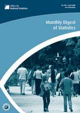 Monthly Digest of Statistics Vol 749, May 2008