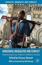 Horizontal Inequalities and Conflict: Understanding Group Violence in Multiethnic Societies