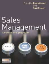 Sales Management: A multinational perspective