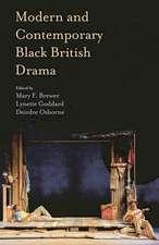 Modern and Contemporary Black British Drama