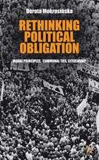Rethinking Political Obligation: Moral Principles, Communal Ties, Citizenship