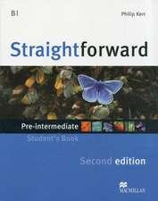 Straightforward 2nd Edition Pre-Intermediate Level Student's Book