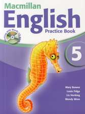 Macmillan English 5 Practice Book and CD Rom Pack New Edition