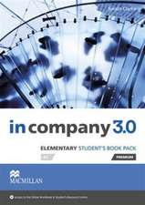 In Company 3.0 Elementary Level Student's Book Pack