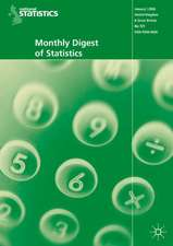 Monthly Digest of Statistics Vol 733, January 2007