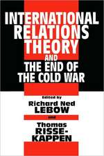 International Relations and the End of the Cold War