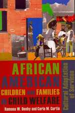 African American Children and Families in Child Welfare – Cultural Adaptation of Services