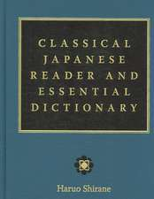 Classical Japanese Reader and Essential Dictionary
