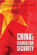 China′s Search for Security