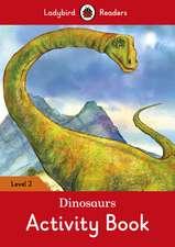Dinosaurs Activity Book – Ladybird Readers Level 2