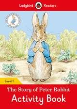The Tale of Peter Rabbit Activity Book- Ladybird Readers Level 1
