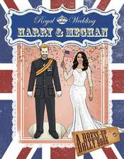 Royal Wedding: Harry and Meghan Dress-Up Dolly Book