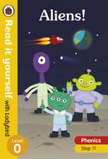 Aliens! Read it yourself with Ladybird Level 0: Step 11