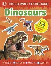 Ultimate Sticker Book Dinosaurs