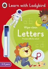 Letters: A Learn with Ladybird Wipe-Clean Activity Book 3-5 years