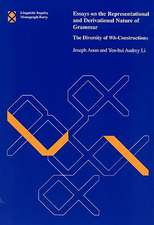 Essays on the Representational and Derivational Nature of Grammar – The Diversity of Wh–Constructions