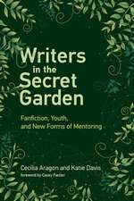 Writers in the Secret Garden – Fanfiction, Youth, and New Forms of Mentoring