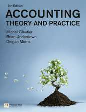 Accounting - Theory and Practice