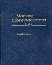 Modern Communications Law