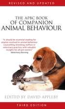The Apbc Book of Companion Animal Behaviour