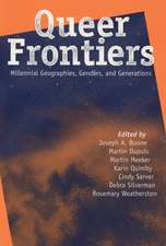 Queer Frontiers: Millennial Geographies, Genders, and Generations