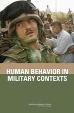 Human Behavior in Military Context