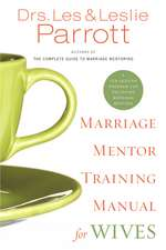 Marriage Mentor Training Manual for Wives: A Ten-Session Program for Equipping Marriage Mentors