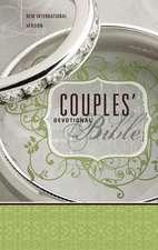 NIV, Couples' Devotional Bible, Hardcover