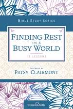 Finding Rest in a Busy World